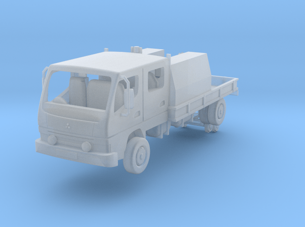 Typical New Zealand highrail truck in Smooth Fine Detail Plastic