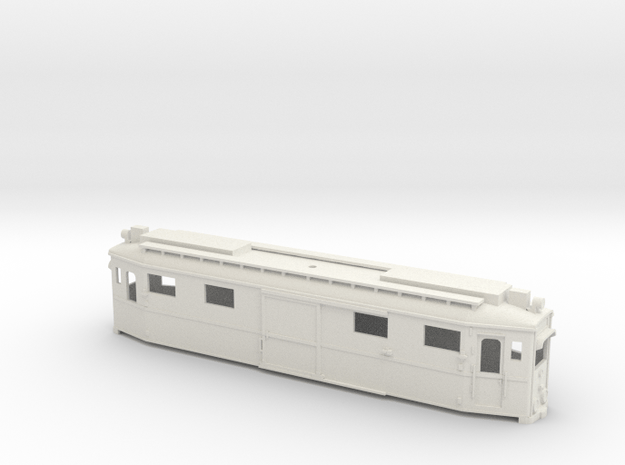 Chassis 18 in White Natural Versatile Plastic