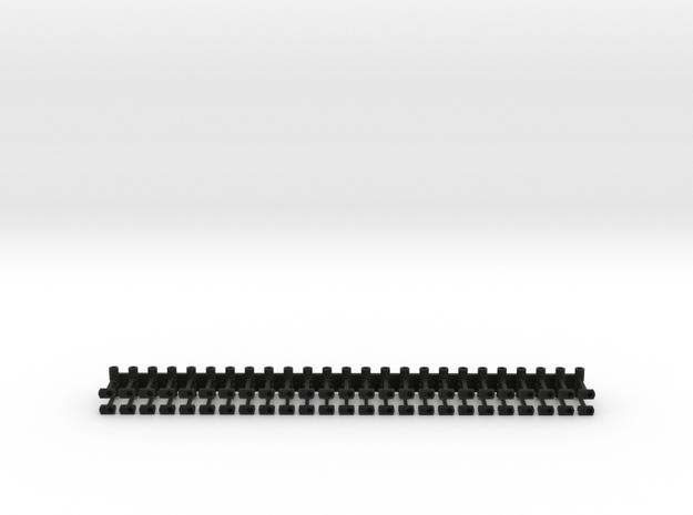 Schaku-Magnetkupplung (1 Magnet steht vor) in Black Natural Versatile Plastic