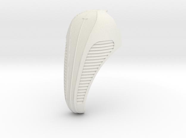 1/8 scale Hudson Grille 2014 in White Natural Versatile Plastic