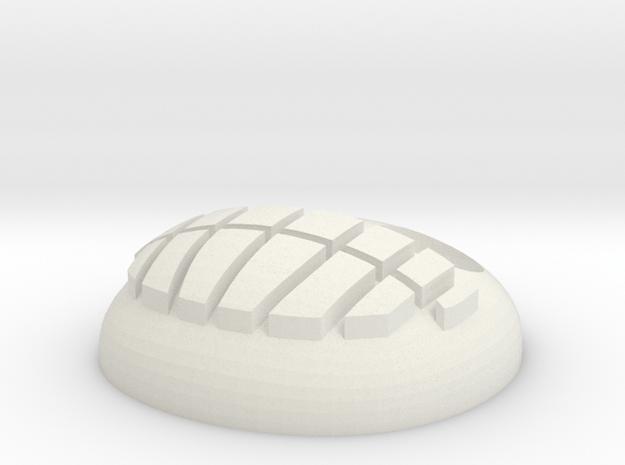 TSU Pendent mm in White Natural Versatile Plastic