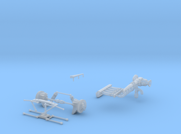 75 Eagle Accessories in Smooth Fine Detail Plastic