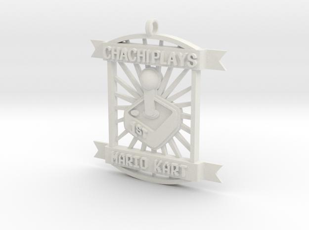 ChachiPlays MarioKart 1stPlace in White Natural Versatile Plastic