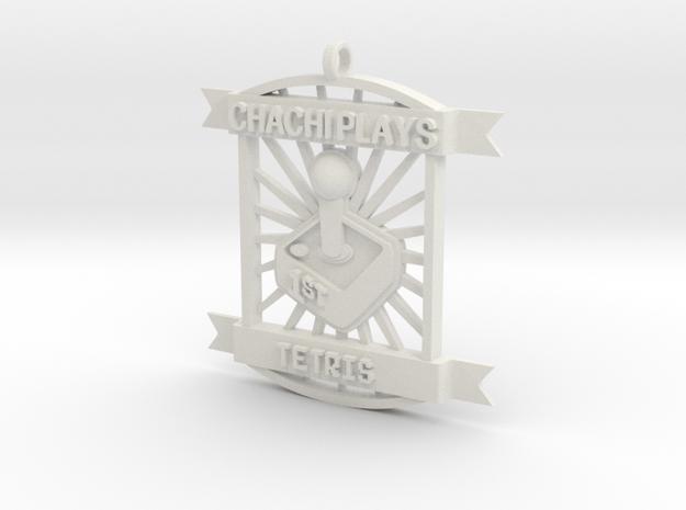 ChachiPlays Tetris 1stPlace in White Natural Versatile Plastic