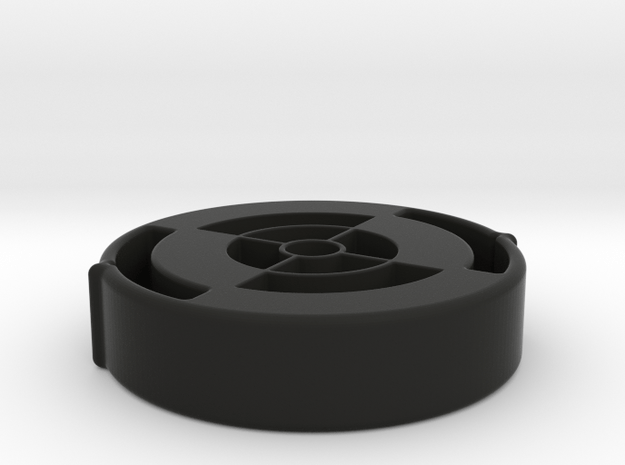 40mm-scope-protector-10mm-thick in Black Natural Versatile Plastic