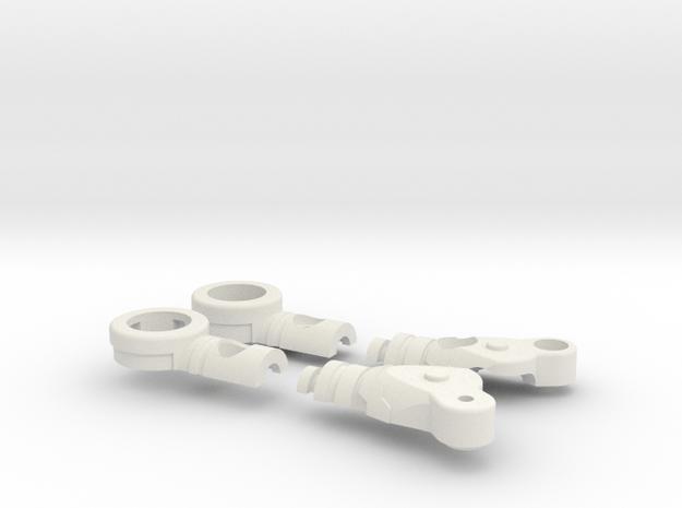 Fighter Variable Zero Left in White Natural Versatile Plastic