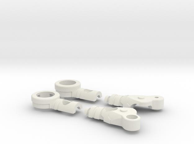 Fighter Variable Zero Right in White Natural Versatile Plastic