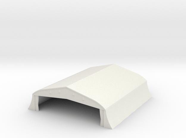 1/350 Bessonneau Hangar 1 in White Natural Versatile Plastic