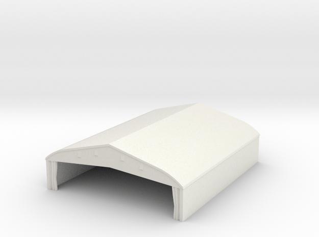 1/350 Bessonneau Hangar 4 in White Natural Versatile Plastic