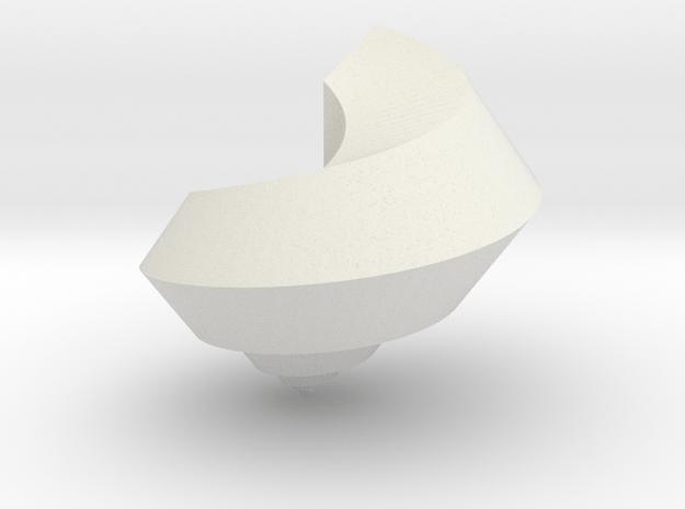 deadly pentagon shell - seashell in White Natural Versatile Plastic