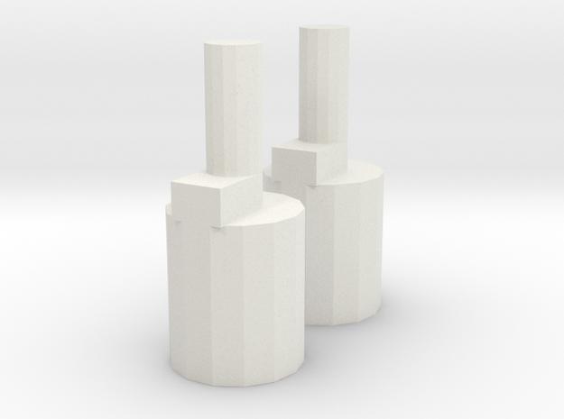 Flowbee repair parts in White Natural Versatile Plastic