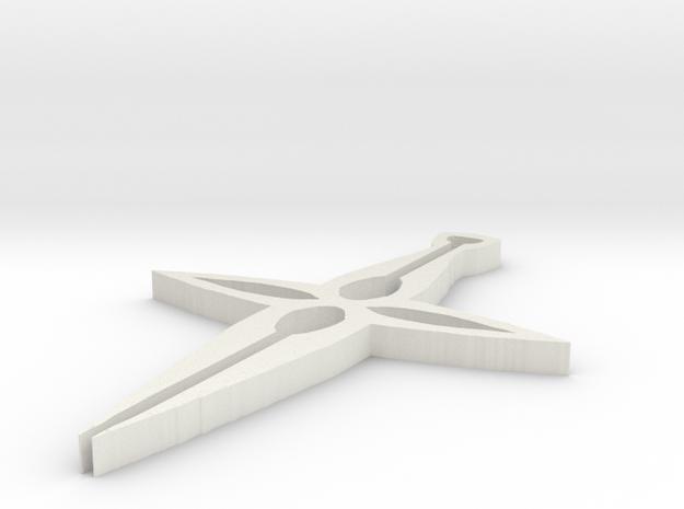 spires in White Natural Versatile Plastic