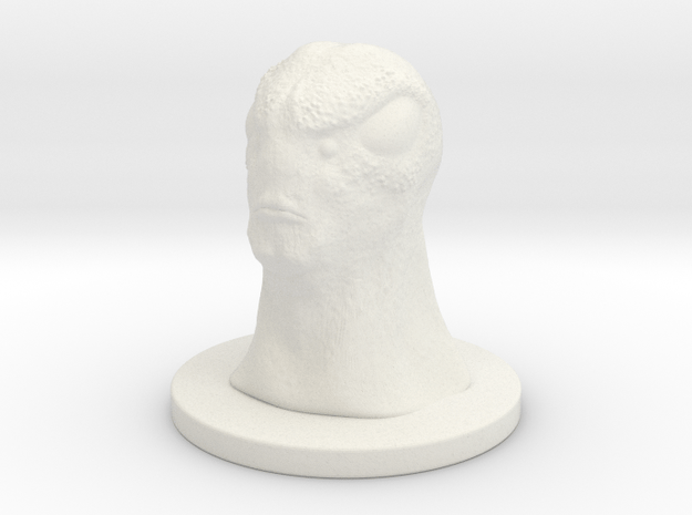 1 Inch Alien 3 in White Natural Versatile Plastic