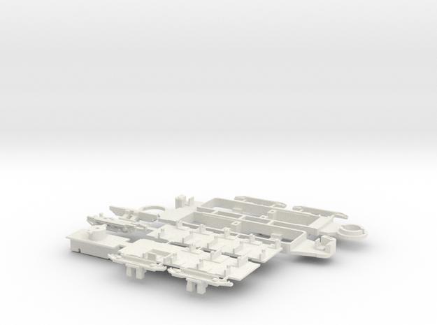 Fahrgestell Harkortwagen in White Natural Versatile Plastic