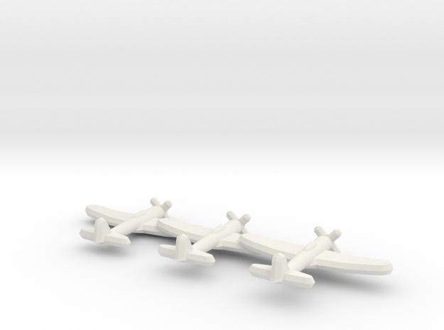 A7M2 'Sam' (Triplet) 1:900 in White Natural Versatile Plastic