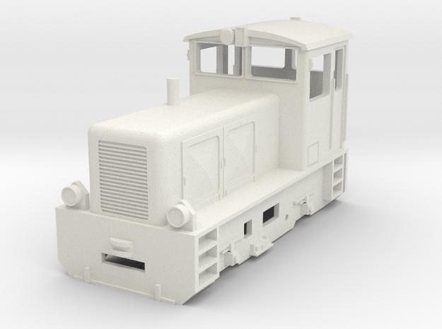 RHB Diesellok mit Indusimagnet in White Natural Versatile Plastic