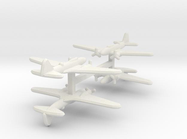 Ilyushin Il-4 1:900 x4 in White Natural Versatile Plastic