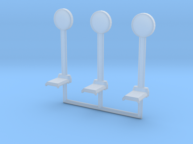 HO-Scale 1950's Penny Scale (3 Pack) in Smooth Fine Detail Plastic