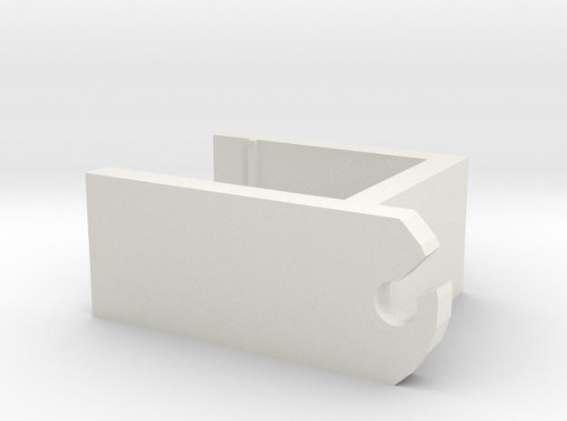 IKEA shelf clip in White Natural Versatile Plastic