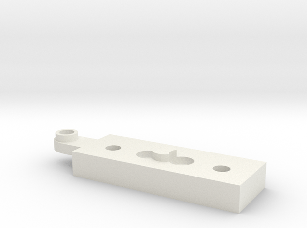IKEA Jansjo steelworks adapter in White Natural Versatile Plastic
