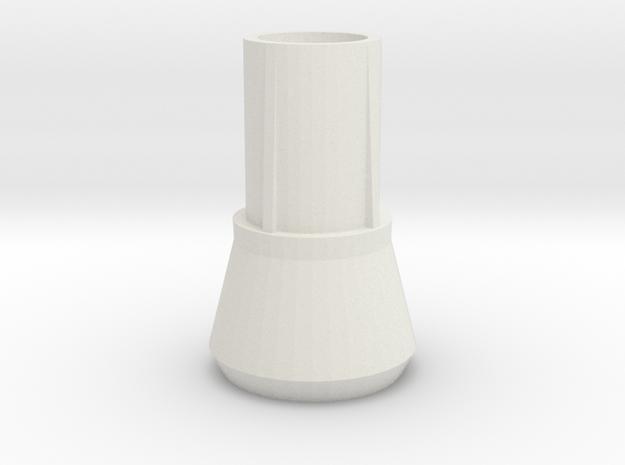 IKEA Julius barstool plastic feet replacement in White Natural Versatile Plastic