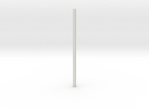 Riveted Column V2.1 in White Natural Versatile Plastic