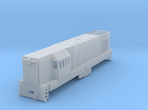1:120 (TT) Scale G12 (T42) in Smooth Fine Detail Plastic