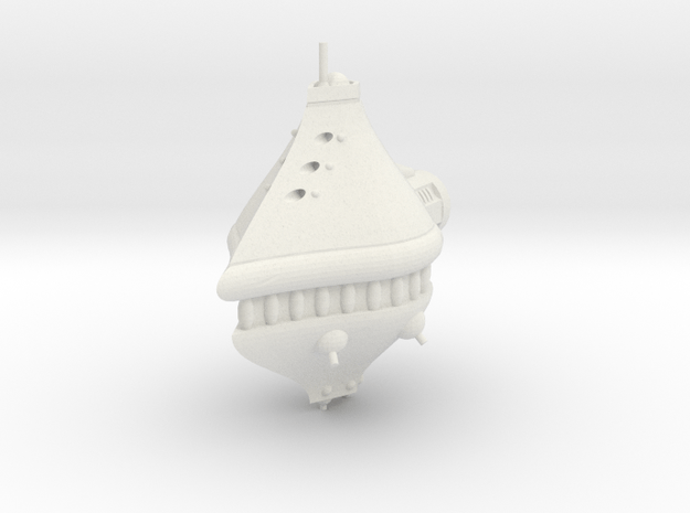 Rushi Battle Carrier - Bastion in White Natural Versatile Plastic