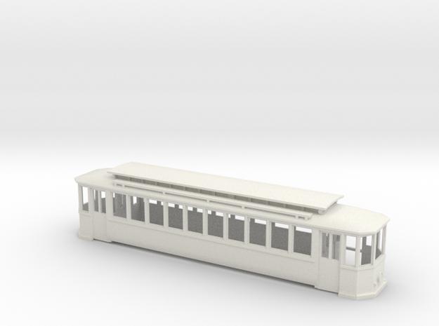 Chassis Wien T Zweiachser Holzverglast in White Natural Versatile Plastic