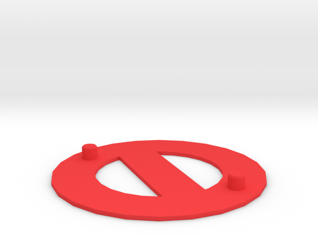 Bassmaster Base in Red Processed Versatile Plastic