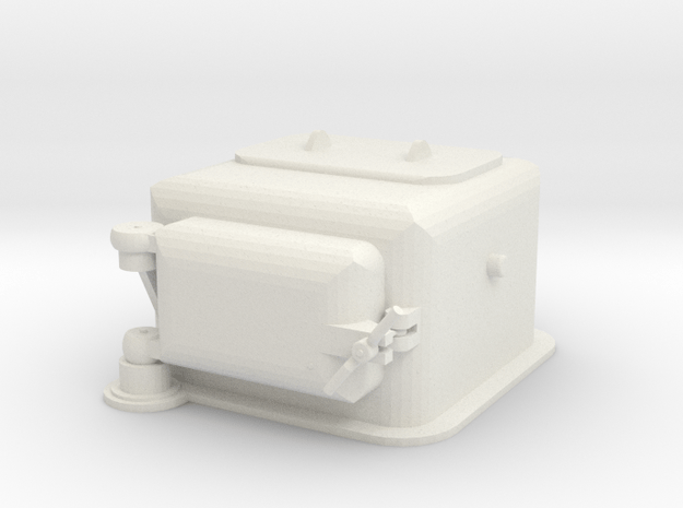 1/72 scale Type I Ammunition Lift in White Natural Versatile Plastic