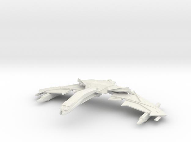 Valcor Class battleship in White Natural Versatile Plastic