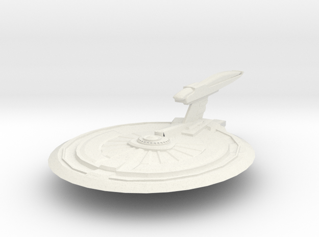 Thoth Class Destroyer in White Natural Versatile Plastic