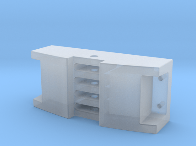 Deutz Lokpuffer, 1:22,5 in Smooth Fine Detail Plastic