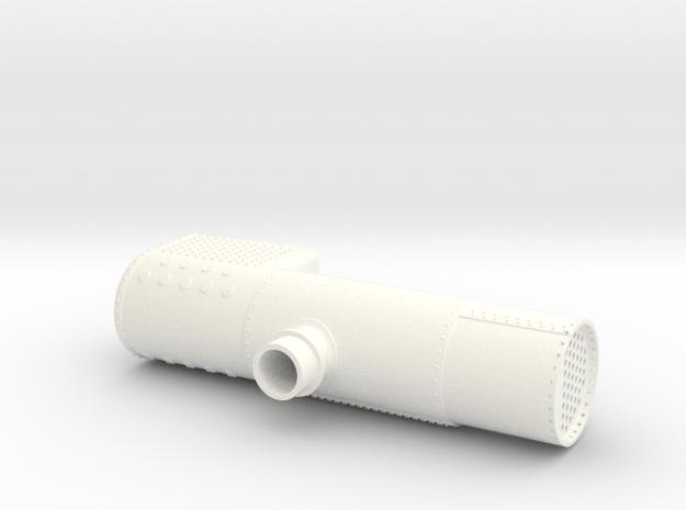 Kedel 45 in White Processed Versatile Plastic