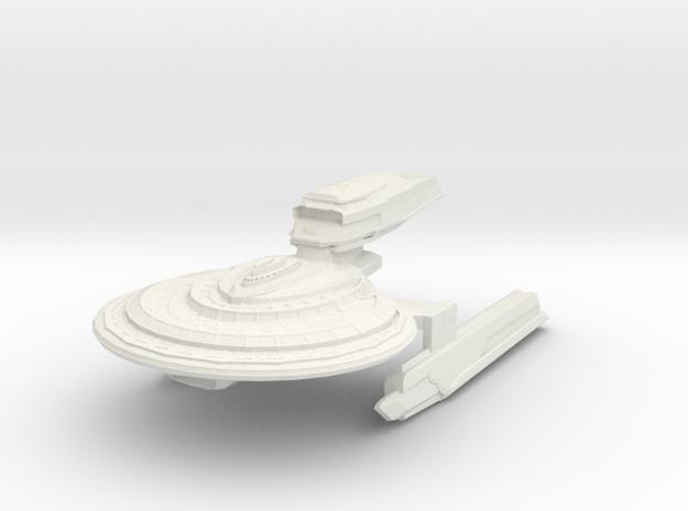 Warrior Class Destroyer in White Natural Versatile Plastic