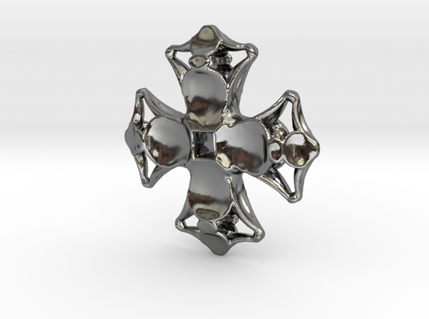 Artefact 17H in Fine Detail Polished Silver