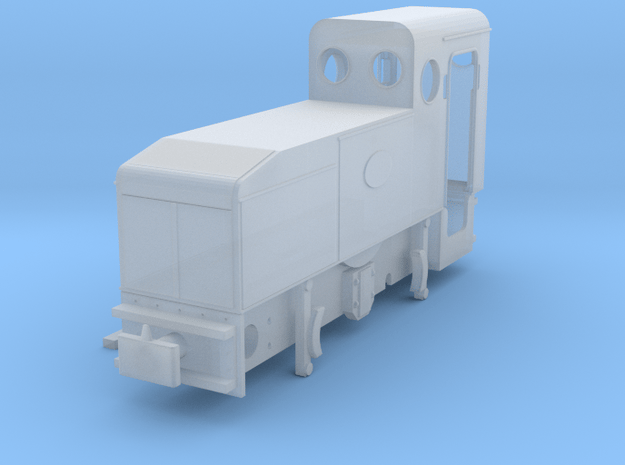 Deutz ML 128 (H0e) in Smooth Fine Detail Plastic