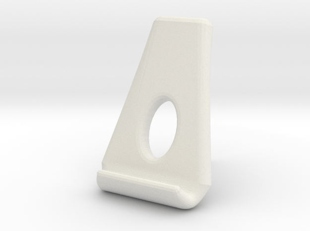 Nexus 7 -  tablet stand in White Natural Versatile Plastic