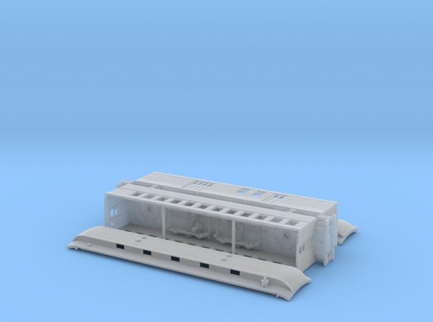 Nn3 Chili Line Train in Smooth Fine Detail Plastic