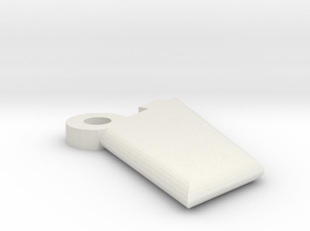 4fin in White Natural Versatile Plastic