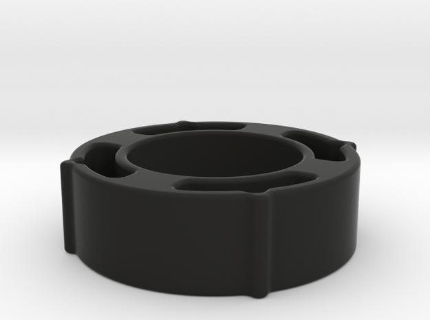 JG-AU3G-OuterBarrel-RIS-Spacer in Black Natural Versatile Plastic
