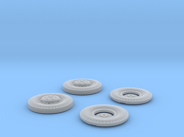 9 20 HW Wheel 1 16scale in Smooth Fine Detail Plastic