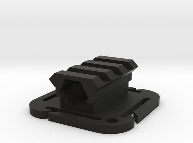 Super Molle Trigalight in Black Natural Versatile Plastic