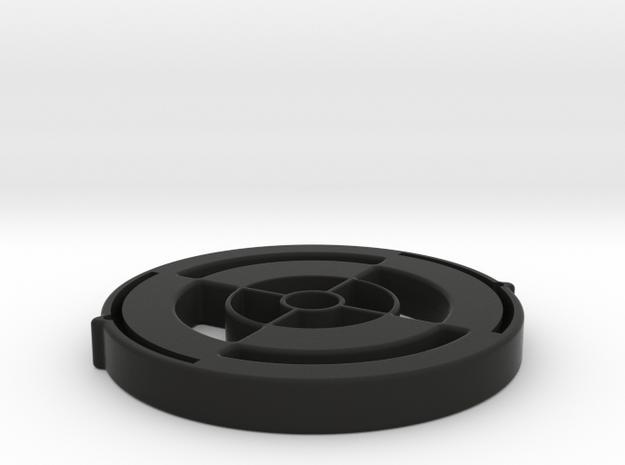 LensProtector42mm-5mmThick in Black Natural Versatile Plastic