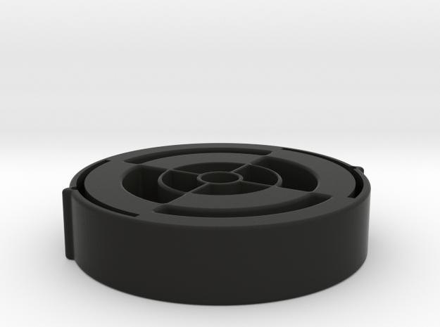 LensProtector42mm-10mmThick in Black Natural Versatile Plastic