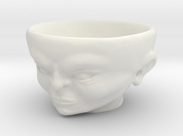 Egghead-char01 in White Natural Versatile Plastic