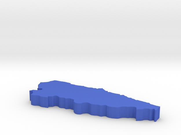 I3D ASTURIAS in Blue Processed Versatile Plastic