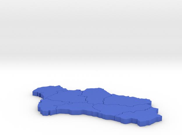 I3D ANDALUCIA in Blue Processed Versatile Plastic