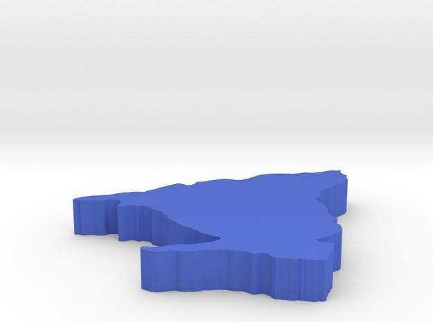 I3D MADRID in Blue Processed Versatile Plastic